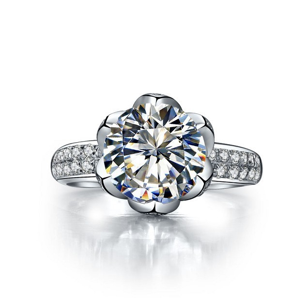 Compare Prices on Flower Shaped Diamond Ring Online ShoppingBuy