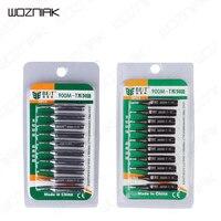 Wozniak 10 Pcs Set Soldering Iron Tsui Tips Nozzle Lead Free Solder Iron Tip 900M T