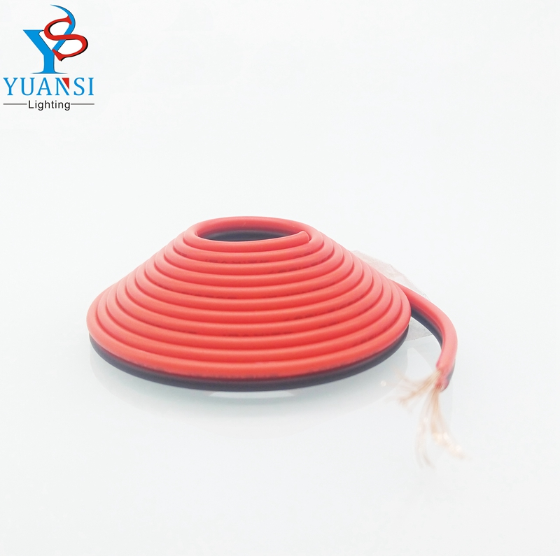 200m 22awg 2pin led cable red black all copper pvc Insulated nylon plastic led wire