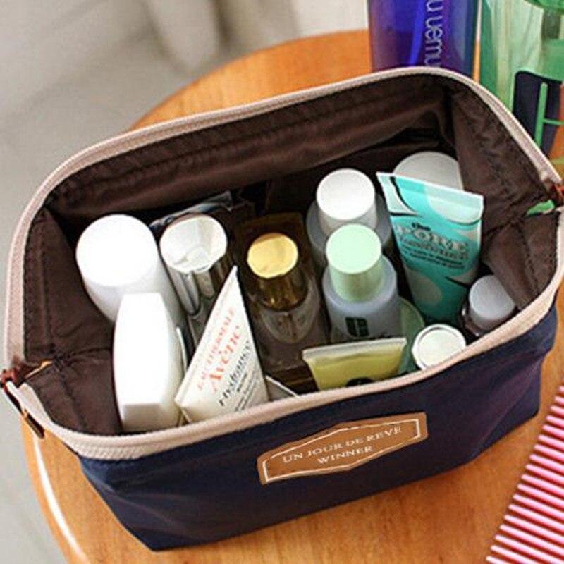 Portable Makeup Bag Travel Cosmetic Bag Trousse De Toilette Maleta De Maquiagem Travel Organizer Makeup Pouch For Kosmetyczka