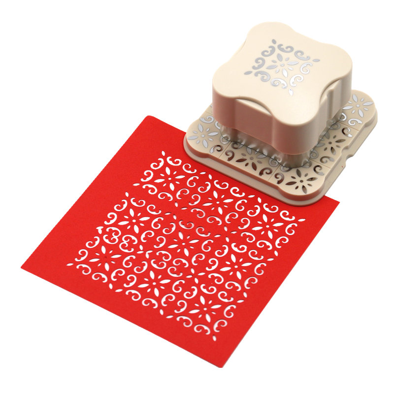 Handmade Crafts and Scrapbooking Tool Paper Punch For Photo Gallery DIY Gift Card Magnetic Punches Embossing device