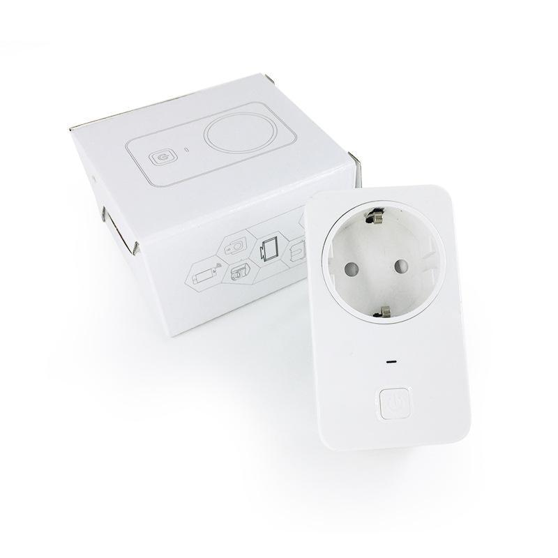 Image 4 - Универсальное умное штекерное гнездо Wi Fi, беспроводная умная розетка, интеллектуальное управление, таймер, вилка для автоматизации умного дома-in Пульты ДУ from Бытовая электроника