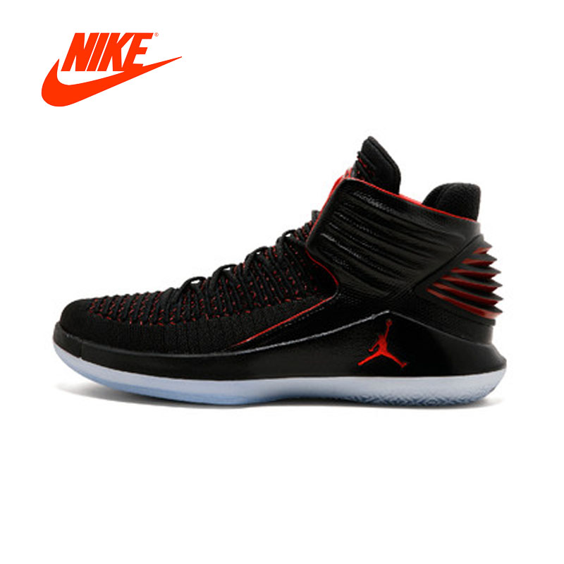 Original New Authentic NIKE Air Jordan XXXII - AA1253 001 Mens Basketball Shoes Sneakers Sport Outdoor Good Quality Nike Shoes nike nike air jordan 1 mid original girl kids basketball shoes children causal skateboarding sneakers