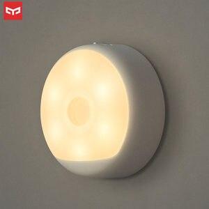 Image 1 - Original Yeelight Night Light PIR Motion and Light Sensor USB Rechargeable Hangable Adhesive Magnetic Lamp 2700K Lighting