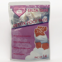 Hot Sale 14pcs/bag (14pcs Foot Pad+14pcs Adhesive) Detox Pads Patches Body Toxins Slimming Feet Cleansing Herbal Adhesive