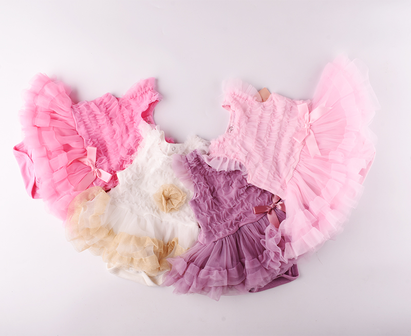 Baby dresss 2018 kids summer tutu dress for baby clothes sleeveless lace ball gown vestido infantil birthday party dresses