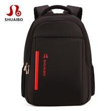 Роскошные водонепроницаемые ноутбук рюкзак 17.3 дюймов Сумка для ноутбука 17 15.6 15 путешествия Бизнес мужчины плечи BOLSOS Para notebook