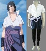 NARUTO Uchiha Sasuke Cosplay Mens Costume