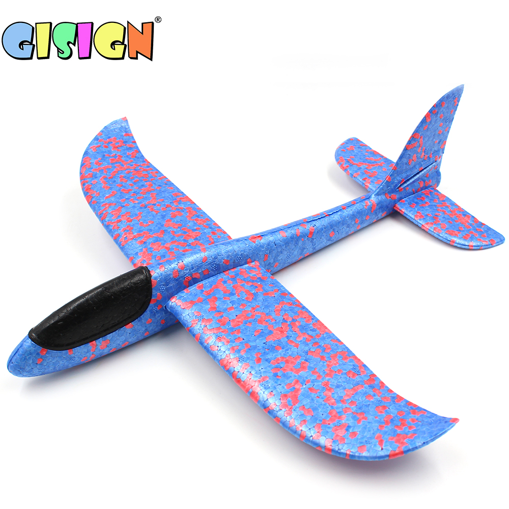 36CM Hand Throw Flying Glider Plane Toy Foam Aircraft Model EPP Breakout Aircraft Party Game Children Outdoor Fun Toys