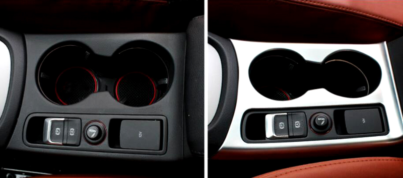 font b Interior b font font b Car b font styling Water Cup Holder Panel