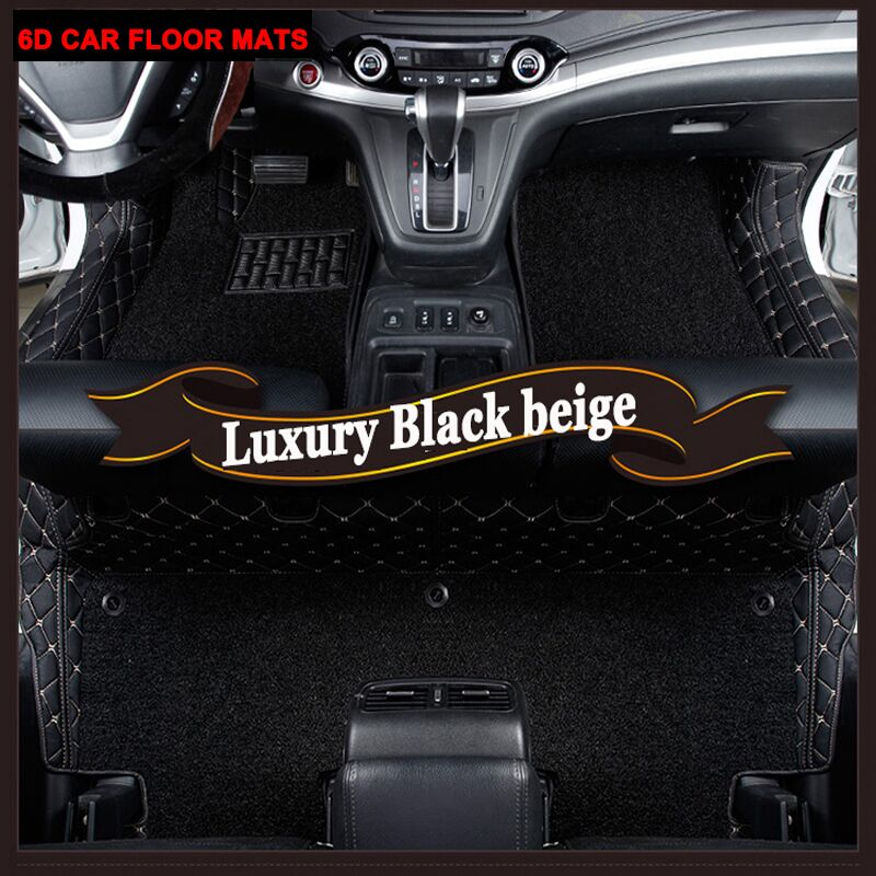 Custom fit автомобильные коврики для Audi A6 C5 C6 C7 A4 B6 B7 B8 A3 A5 A7 A8 A8L Q3 Q5 Q7 линованные коврики