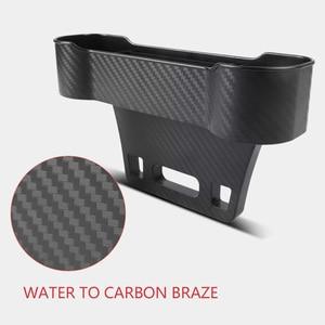 Image 4 - Car Accessories Storage Box Auto Organizer Seat Gap Case Pocket Car Seat Side Slit for Wallet Phone Coins Cigarette Keys Cards