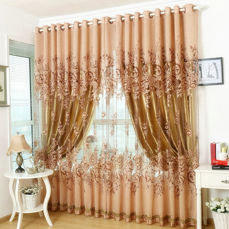 Buy Window Curtain For Living Room Bedrooms Hotel 100 Blac