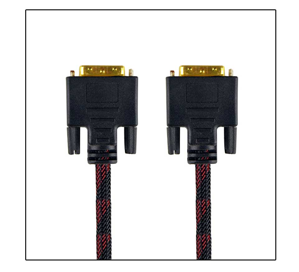 High Speed DVI Cable 3M 5M 10M Gold Plated Plug Male-Male DVI TO DVI 24+1 cable 1080p for LCD DVD HDTV XBOX Monitor Projector (9)