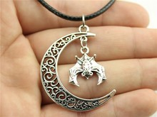 Long black choker necklaces for women