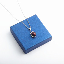 Again Jewel 2019 New Natural Stone Dolphin Women Pendant with Stainless Steel Chain Free shipping Necklace Gi ft