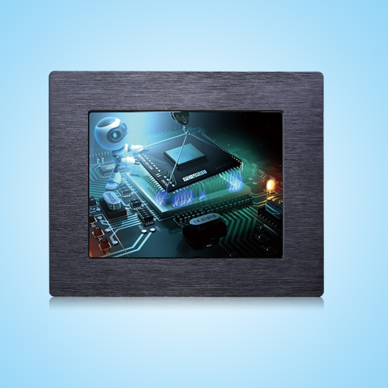 8.4 inch lcd monitor touch screen monitor capacitive touchscreen monitor hdmi dvi vga input industrial monitor