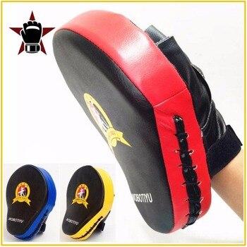 Quality Hand Target MMA Martial Thai Kick Pad Kit Black Karate Training Mitt Focus Punch Pads Sparring Boxing Bags