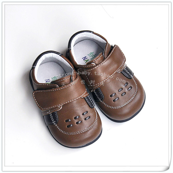 Genuine leather soft sole toddler shoes sheepskin shoes soft outsole toddler shoes