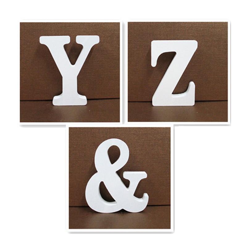 Деревянная буква английского алфавита, 15 см