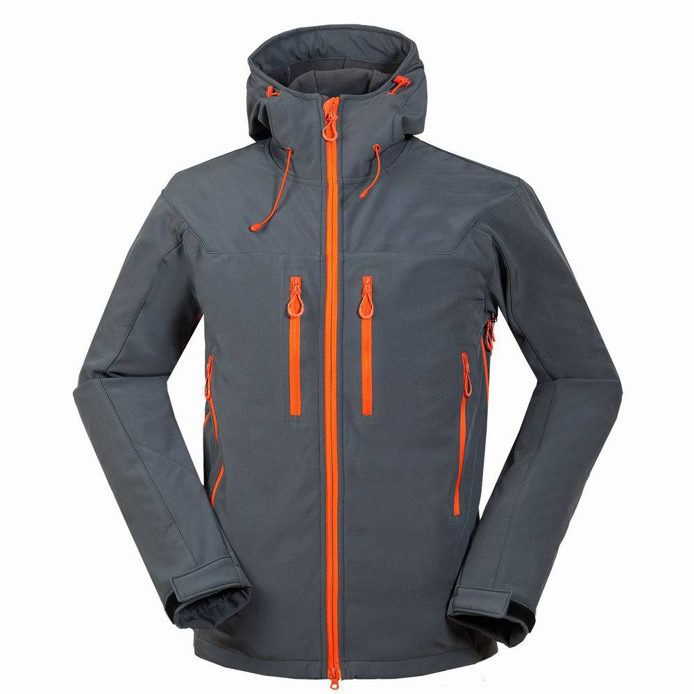 Extérieur hommes veste de Ski coupe-vent thermique Softshell Snowboard Ski manteaux respirant veste de sport pour Camping randonnée patinage