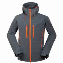 Outdoor Men Ski Jacket Windproof Thermal Softshell Snowboard Skiing Coats Breathable Sports Jacket For Camping Hiking Skating