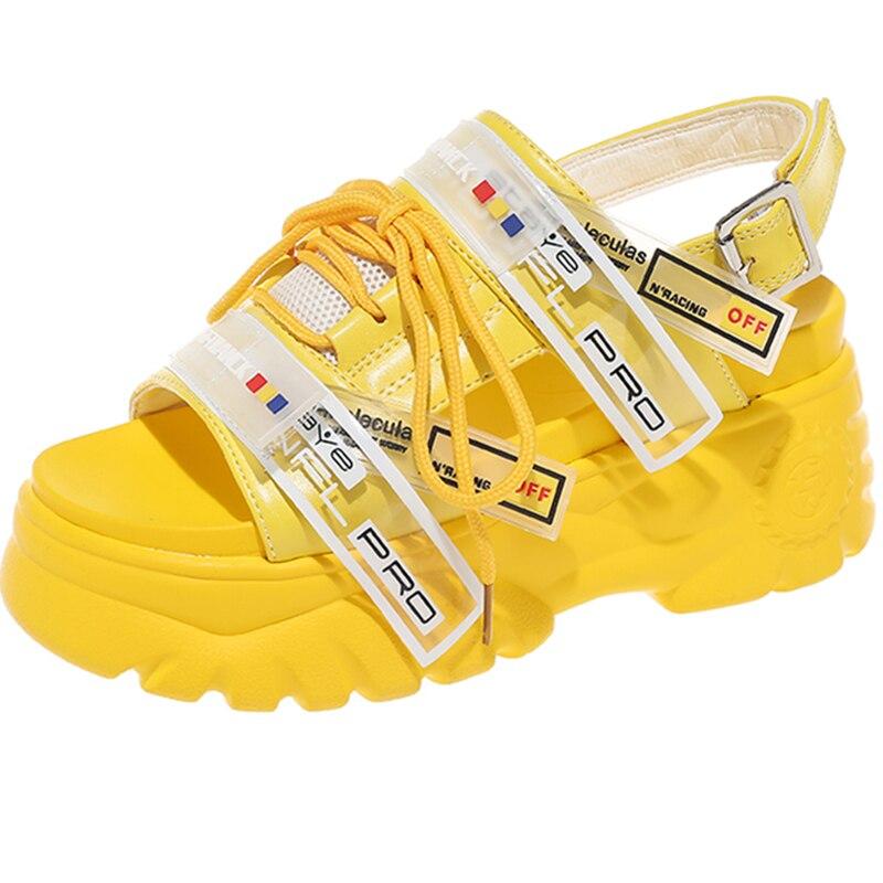 Fashion Style Summer Women Chunky Beach Sandal Casual Shoes 1