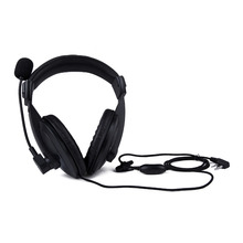 Big Headphones headset K With Double Earmuff Headset In Helmet PTT VOX Earpiece For Kenwood TK-3107 TK-3230, TK-3230XLS etc