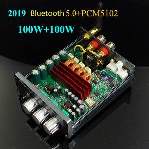 Image 1 - GHXAMP TPA3116 amplificateur Bluetooth 5.0 + PCM5102A décoder Audio Machine HIFI stéréo amplificateur numérique 100 W * 2 voiture Home cinéma 2019 plus récent