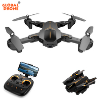 Global Drone VISUO XS812 GPS Drone with Camera 2MP/5MP 15 mins Flight Time FPV Follow Drones with Camera HD RC Dron Quadrocopter