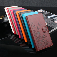 XiaoMi Redmi 4X Redmi 4X Pro Case Cover Luxury Flower Tower Leather Wallet Flip Protective Cover