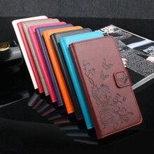 XiaoMi redmi 4X redmi 4X Pro Case Cover Luxury Flower Tower Leather wallet flip protective cover case for XiaoMi redmi 4X Pro