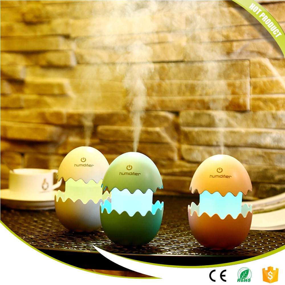 Egg Humidifier LED Table Lamp Mini USB Air Freshener Purifier Mist Maker For Home Sleep Master Children Decoration Nightlight 48inch air hockey table hockey tables children play sports equipment with electrical air powered motor for real air flow