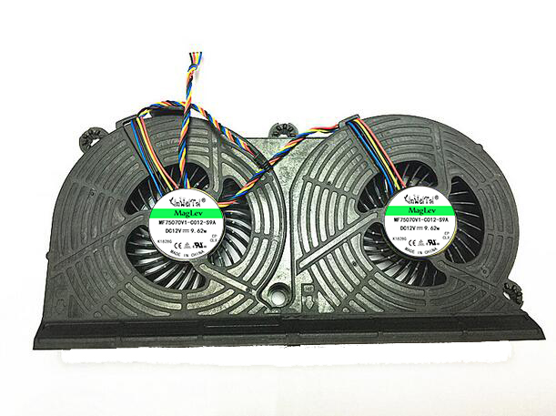 80%NEW fan For HP ELITEONE 800 705 G1 DFS602212M00T FC2N MF80201V1-C010-S9A 733489-001 023.10006.0001 All In One PC CPU Fan 744009 501 744009 001 for hp probook 640 g1 650 g1 motherboard socket 947 hm87 ddr3l tested working