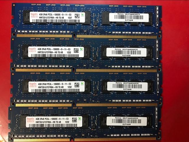 For Hynix DDR3 4GB 1333MHz PC3-10600E 2Rx8 Pure ECC Server memory RAM