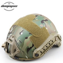 купить Fast MH Helmet Tactical Helmet Airsoft Paintball Wargame Gear CS FAST Helmet дешево