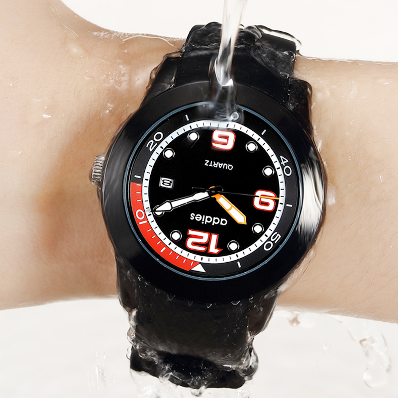 2019 Men Business Causal Fashion Waterproof Luminous brand Luxury quartz wristwatch hardlex digital sports mens  watch