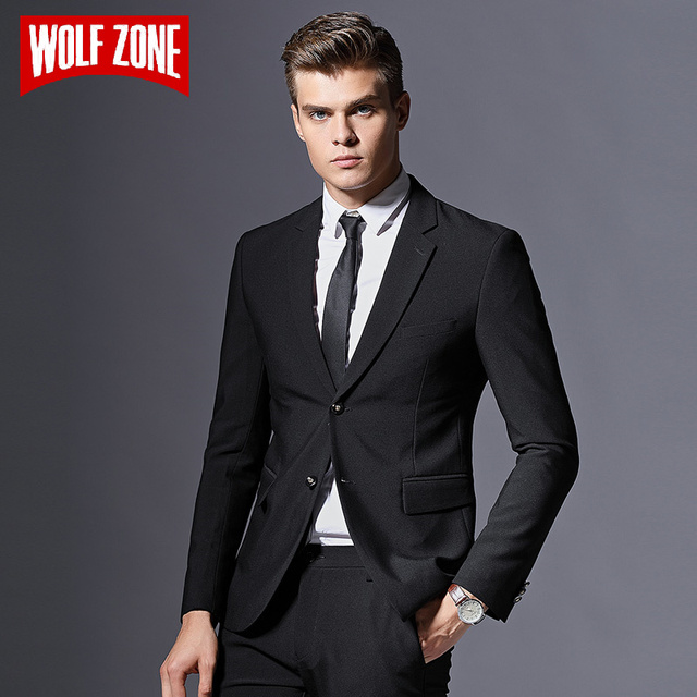 259607fe8b Sale Brand Mens Suit Formal Business Blazer Men Groom Three Pieces Slim Fit  Party Jacket Clothing Single Button Wedding Dress