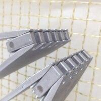 (2 pçs/lote/) Marca Máquina de Encordoamento Da Raquete  Amarrando Ferramentas  Braçadeiras Voadores Badminton-Frete Grátis