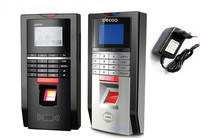 Realand Biometric Fingerprint Attendance Time Clock And Access Control With TCP IP Power Supply