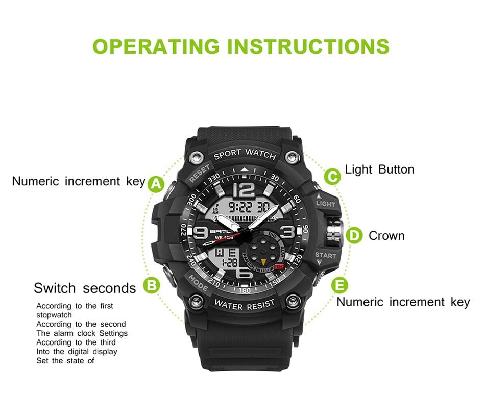 HTB1 89Jl98YBeNkSnb4q6yevFXaJ SANDA 759 Sports Men's Watches Top Brand Luxury Military Quartz Watch Men Waterproof S Shock Wristwatches relogio masculino 2019