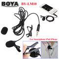 Бесплатная доставка!!! BOYA BY-LM10 Всенаправленный Петличный Микрофон для IOS 6 5 4S 4, для Sumsang GALAXY 4 LG G3 HTC one