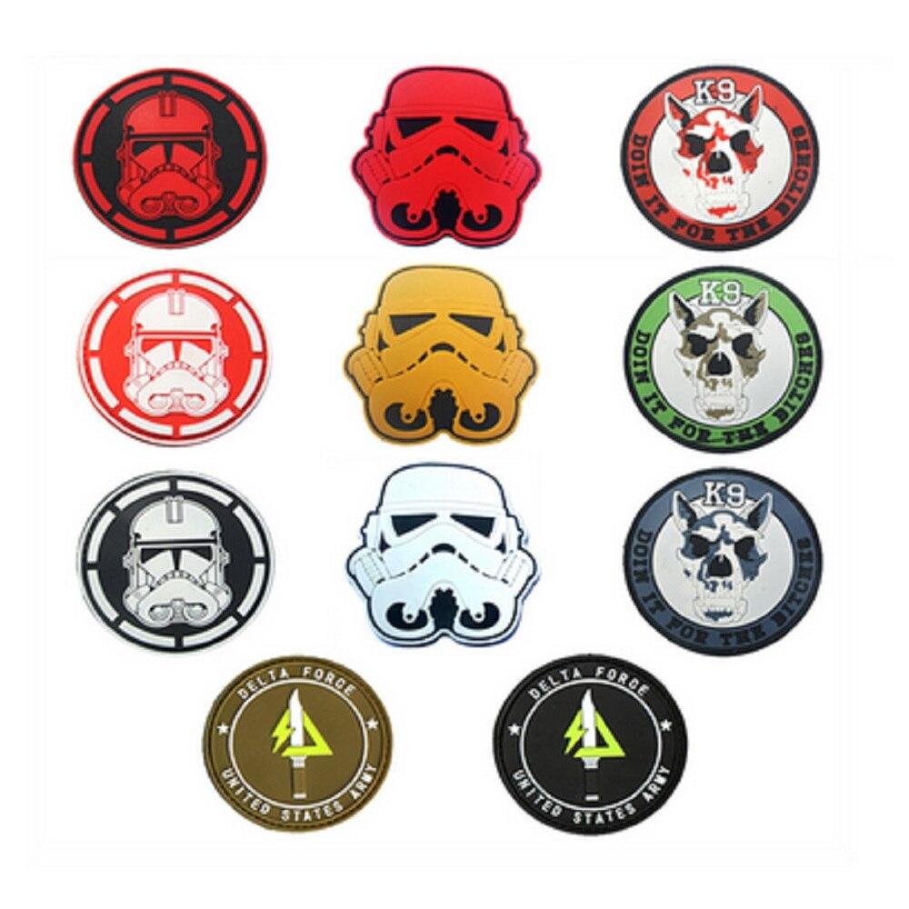 3D PVC lijm armband Star Wars Empire leger patch K9 hulphond patch - Kunsten, ambachten en naaien