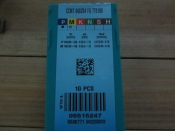Taegutec  CCMT060204-FG TT5100 lathe turning tools  wholesael freeshipping CCMT060204FG TT5100 wholesale CCMT 060204 FG TT5100