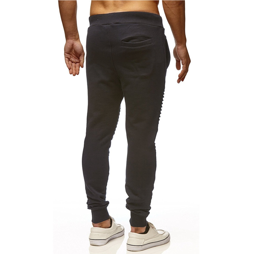 Men Pant Joggers Male Trousers Workout Men's Summer Casual Hip-Hop Flat Solid Sexy