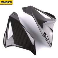SMOK Motorcycle Carbon Fiber Left Right Frame Fairing Panel Kits Guard Cover For Yamaha MT10 MT 10 MT 10 2016 2017 2018