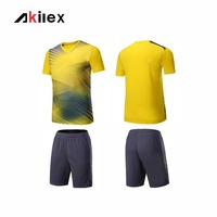 New Style Design Soccer Jersey Mens Football Suit Training Tracksuit Team Sportwear Soccer Uniform