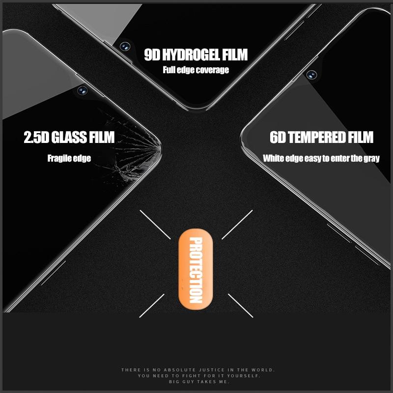 Xiaomi9D Hydrogel Film For Xiaomi Mi Max Mix 2 2S 3 Note 2 Screen Protectors Film Mi 5X 6 8 9 SE LITE Soft Mobile Phone Film in Phone Screen Protectors from Cellphones Telecommunications