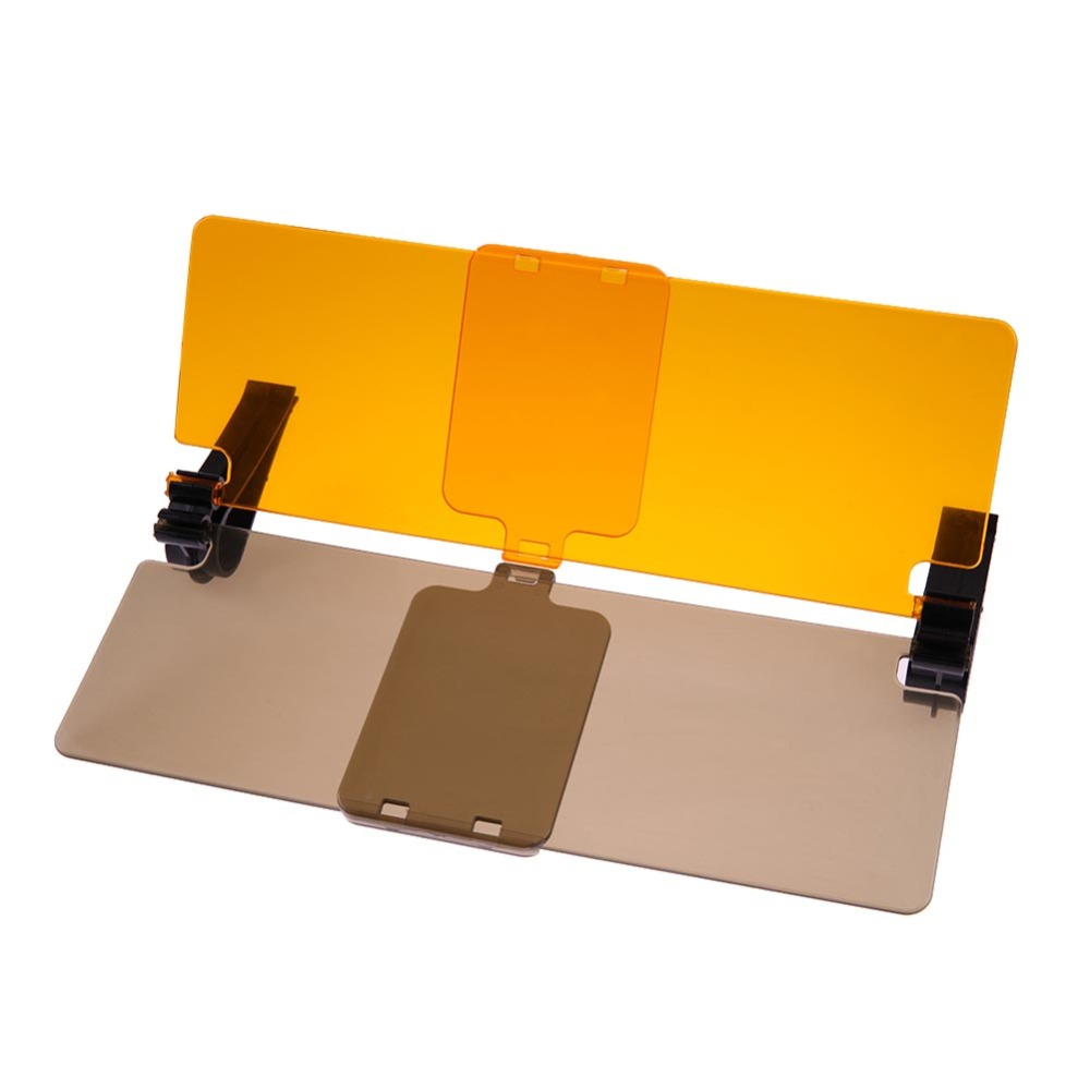 Pala de Sol do carro Do Carro HD Anti-Glare Dazzling Goggle Day Night Vision condução Espelho UV Fold Flip Down HD Visão Clara Visor Novo