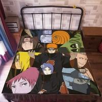 Anime Manga Naruto Bed Sheet 150*200cm Bedsheet 008